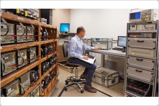 Fluke 8588A Reference Multimeter in Calibration Standards Laboratory